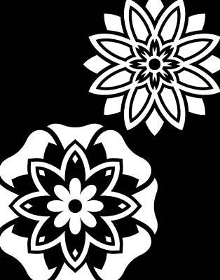 Black & White Mandala IIi Art Print