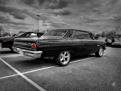 Photograph - Black '65 Z16 Chevelle Malibu Ss396 by Lance Vaughn