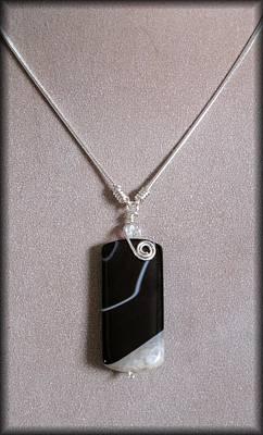 Estate Jewelry Jewelry - Black Agate Druzy by Jan Brieger-Scranton