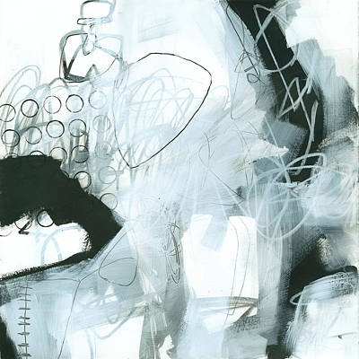 Ink Wall Art - Painting - Black And White #1 by Jane Davies