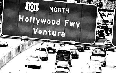 Photograph - Black And White Abstract City Photography...101 North by Amy Giacomelli