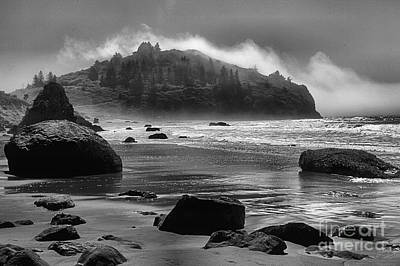 Photograph - Black And White At Trinidad by Adam Jewell