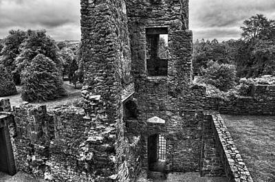 Photograph - Black And White Castle by Sharon Popek