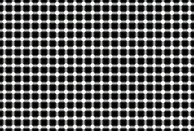 Black And White Dots Art Print by Daniel Hagerman