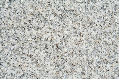 Speckled Granite Photograph - Black And White Granite  by Jim Pruitt
