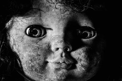 Horror Movies Photograph - Black And White Is So Artsy  by JC Findley
