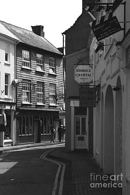Photograph - Black And White Kinsale Street by Jeremy Hayden