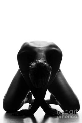 Photograph - Black And White Nude by Gunnar Orn Arnason