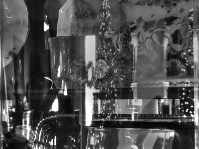 Photograph - Black And White Reflections Of Old by Cathy Jourdan