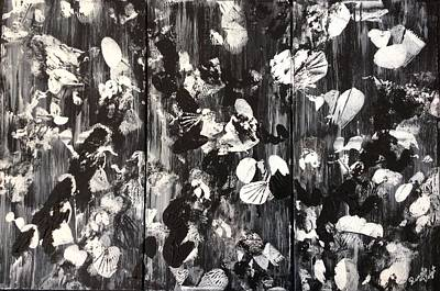Painting - Black And White by Renate Voigt