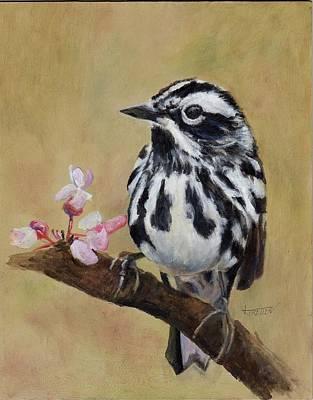 Black And White Warbler Original