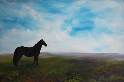 Black As Night In The Light Of Day Original by Jean Walker
