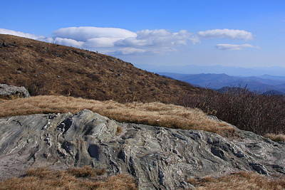 Art Print featuring the photograph Black Balsam Knob-north Carolina by Mountains to the Sea Photo