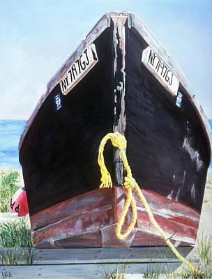 Amagansett Painting - Black Bart by Lorraine LaVista