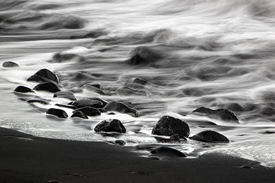 Photograph - Black Beach by Jay Evers