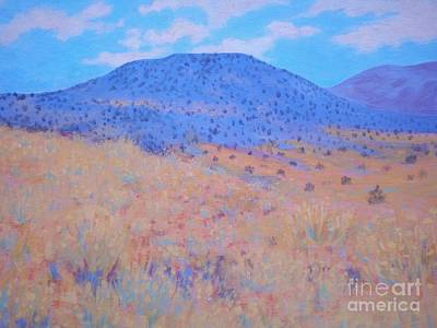 Black Butte Art Print by Suzanne McKay