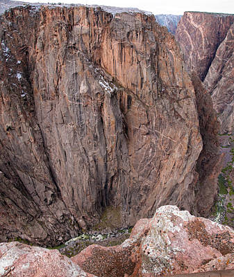 Photograph - Black Canyon Chasm View by Eric Rundle