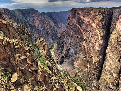 Photograph - Black Canyon by Dan Sproul