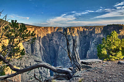Photograph - Black Canyon Fading Light by Eric Rundle