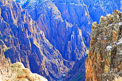 Photograph - Black Canyon Light by Roena King