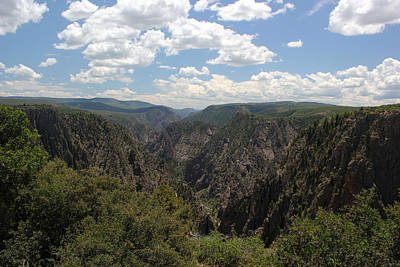 Photograph - Black Canyon Of The Gunnison 1 by Mary Bedy