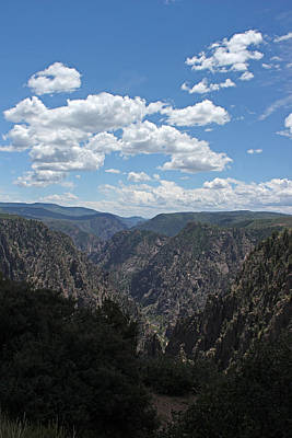 Photograph - Black Canyon Of The Gunnison 2 by Mary Bedy