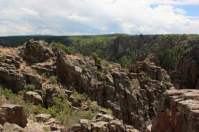 Photograph - Black Canyon Of The Gunnison 4 by Mary Bedy