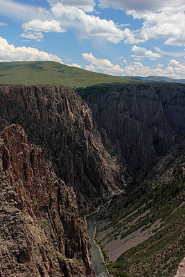 Photograph - Black Canyon Of The Gunnison 6 by Mary Bedy