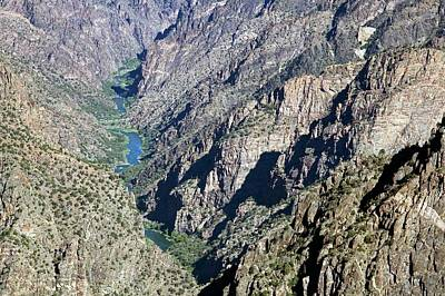 Black Canyon Of The Gunnison Art Print by Jim West