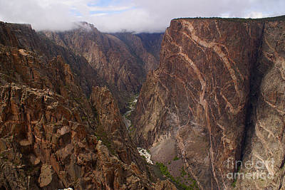 Photograph - Black Canyon Of The Gunnison by Kelly Black