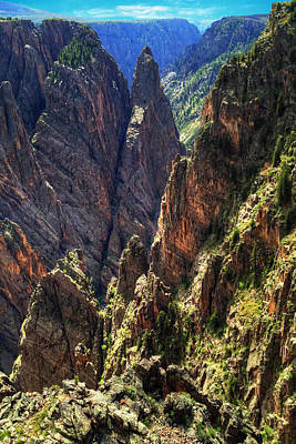 Photograph - Black Canyon Of The Gunnison National Park I by Roger Passman