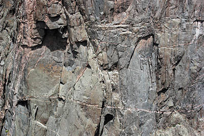 Photograph - Black Canyon Of The Gunnison Wall 3 by Mary Bedy