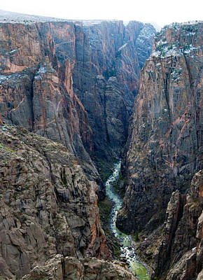 Photograph - Black Canyon The River  by Eric Rundle