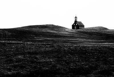 Chapel Photograph - Black Chapel by Julien Oncete