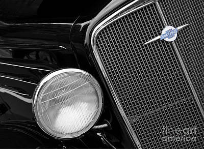 Lucille Ball - Black Chevy by Dennis Hedberg
