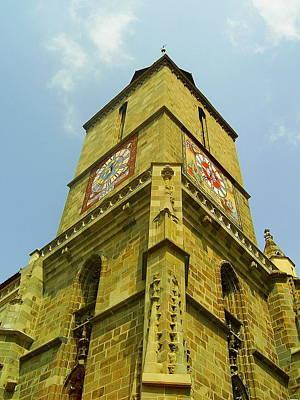 Photograph - Black Church Tower by Tamyra Crossley