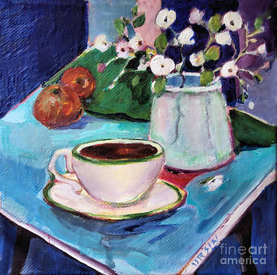 Painting - Black Coffee by Diane Ursin