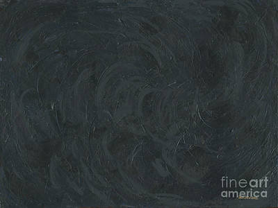 Painting - Black Color Of Energy by Ania M Milo