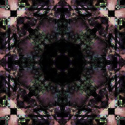 Digital Art - Black Dahlia by Betsy Jones