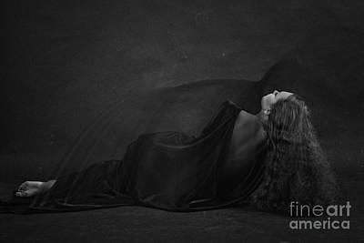 Black Dress Art Print