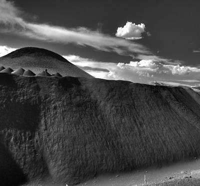 Black Dune Art Print