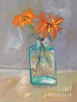 Painting - Black-eyed Susan Alla Prima by Joanne Killian