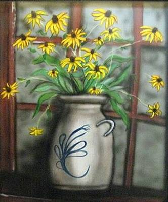 Painting - Black Eyed Susan by Kendra Sorum