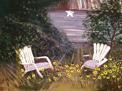 Painting - Black-eyed Susans by Hollie Ward