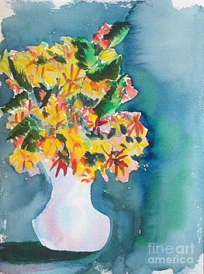 Painting - Black-eyed Susans by Walt Brodis
