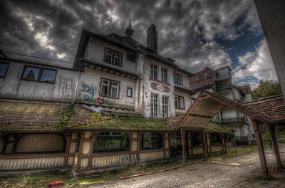 Days Go By Digital Art - Black  Forest Hospital by Nathan Wright
