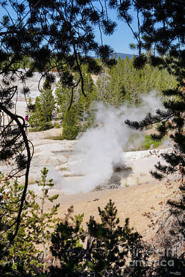 Photograph - Black Growler Steam Vent by Jennifer White