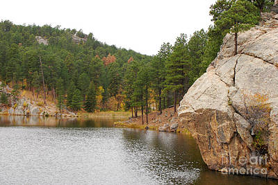 Photograph - Black Hills Lake by Mary Carol Story