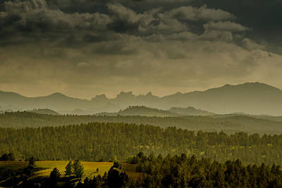 Photograph - Black Hills Layers by Dakota Light Photography By Dakota