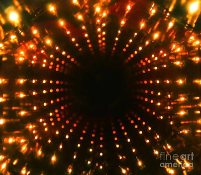 Photograph - Black Hole  Bright Lights  And Loud  Loud Music by Jesse Ciazza